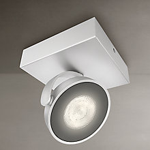 Buy Philips myLiving Clockwork LED Spotlight, Silver Online at johnlewis.com
