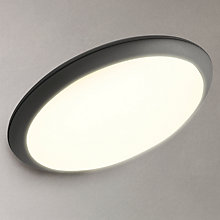 Buy Phillips myGarden Raven LED Solar Outdoor Wall Light, Black Online at johnlewis.com