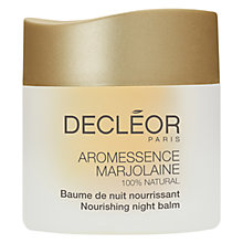 Buy Decléor Aromessence™ Marjorlaine Nourishing Night Balm Online at johnlewis.com