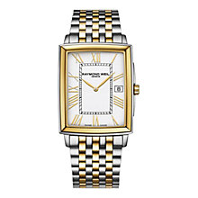 Buy Raymond Weil 5456-STP-00308 Men's Tradition Watch, Silver / Gold Online at johnlewis.com