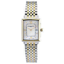 Buy Raymond Weil 5956-STP-000915 Women's Tradition Watch, Silver / Gold Online at johnlewis.com