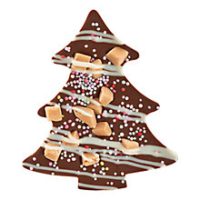 Buy James Milk Chocolate Christmas Tree, 35g Online at johnlewis.com