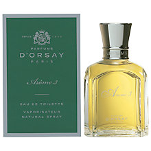 Buy Parfum D'Orsay Arome 3 Eau de Toilette, 50ml Online at johnlewis.com