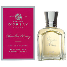 Buy Parfum D'Orsay Chevalier D'Orsay Eau de Toilette, 50ml Online at johnlewis.com