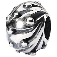Buy Trollbeads Sterling Silver Snowballs Bead, Silver Online at johnlewis.com