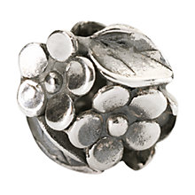 Buy Trollbeads Sterling Silver Mum's Bouquet Bead, Silver Online at johnlewis.com