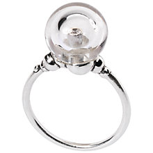Buy Trollbeads Sterling Silver Crystal Bubble Ring Online at johnlewis.com