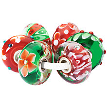 Buy Trollbeads Classic Christmas Kit, Red / Green / White Online at johnlewis.com