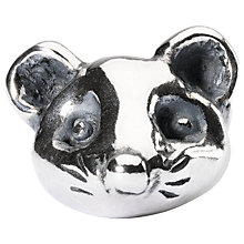Buy Trollbeads Sterling Silver Impulsive Mouse Charm, Silver Online at johnlewis.com