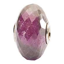 Buy Trollbeads Ruby Rock Mother's Day Glass Bead Online at johnlewis.com