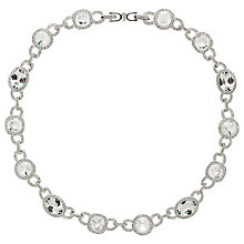 Buy Cachet London Rhodium Plated Steffani Necklace, Silver Online at johnlewis.com