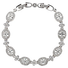 Buy Cachet London Rhodium Plated Anitha Bracelet, Silver Online at johnlewis.com