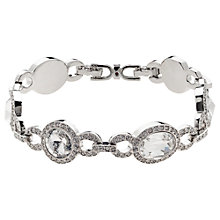 Buy Cachet London Rhodium Plated Steffani Bracelet, Silver Online at johnlewis.com