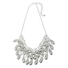 Buy Adele Marie Worn Three Row Necklace, Silver Online at johnlewis.com