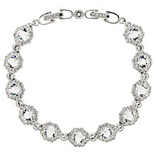 Buy Cachet London Rhodium Plated Rada Bracelet, Silver Online at johnlewis.com