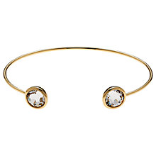 Buy Cachet London Brilliant Spring Gold Plated Crystal Bangle Online at johnlewis.com