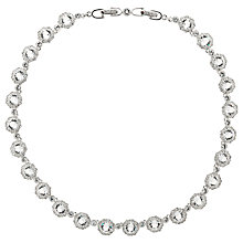 Buy Cachet London Rhodium Plated Rada Necklace, Silver Online at johnlewis.com