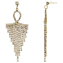 Buy John Lewis Chandelier Earrings, Gold Online at johnlewis.com