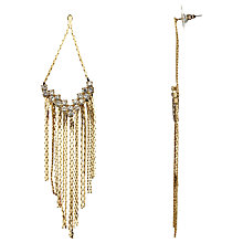 Buy John Lewis Tassel Earrings, Gold Online at johnlewis.com