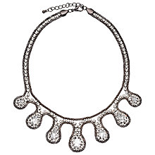 Buy John Lewis Diamante Teardrop Necklace Online at johnlewis.com