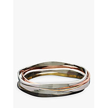 Buy John Lewis Wave Bangles, Multi Online at johnlewis.com