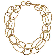 Buy John Lewis Layered Circles Necklace, Gold Online at johnlewis.com