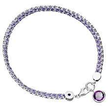Buy Astley Clarke Modern Love Friendship Bracelet, Silver Online at johnlewis.com