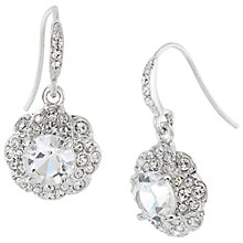 Buy Carolee Small Flower Drop Earrings, Silver Online at johnlewis.com