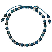 Buy Lola Rose Portobello Kynte Bracelet, Blue/Silver Online at johnlewis.com