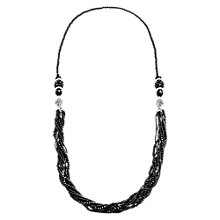 Buy Martick Two Part Magnetic Necklace, Black Online at johnlewis.com