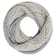 Buy Hygge by Mint Velvet Sequin Knitted Snood, Neutral Online at johnlewis.com