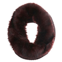 Buy Mint Velvet Faux Fur Snood, Merlot Online at johnlewis.com
