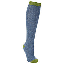 Buy John Lewis Wool/Silk Knee High Socks Online at johnlewis.com