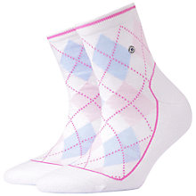 Buy Burlington Margate Ankle Socks, Bright Pink Online at johnlewis.com