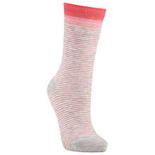 Buy John Lewis Feeder Stripe Ankle Socks Online at johnlewis.com