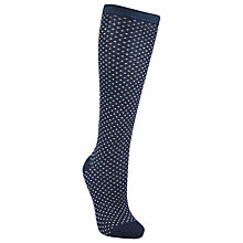 Buy John Lewis Spot Knee High Socks Online at johnlewis.com
