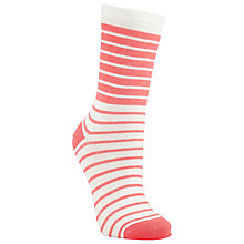 Buy John Lewis Variegated Stripe Ankle Socks Online at johnlewis.com