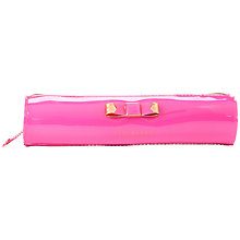 Buy Ted Baker Magra Bow Pencil Case, Pink Online at johnlewis.com