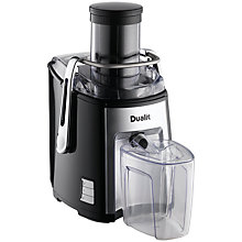 Buy Dualit 88305 Juice Extractor, Black Online at johnlewis.com
