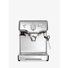 Buy Sage by Heston Blumenthal the Duo Temp Pro Espresso Coffee Machine, Brushed Stainless Steel Online at johnlewis.com