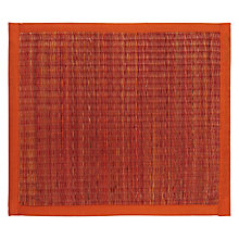 Buy John Lewis Seagrass Placemat, Picante Online at johnlewis.com