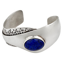 Buy Sharon Mills Handmade Bangle Set, Silver Online at johnlewis.com