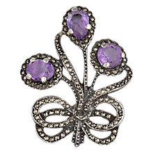 Buy Sharon Mills 1968 Birmingham Amethyst Brooch Online at johnlewis.com