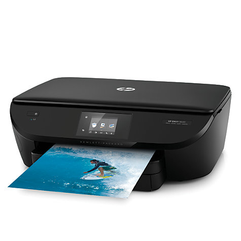 buy hp envy 5640 all in one wireless printer hp instant ink compatible john lewis. Black Bedroom Furniture Sets. Home Design Ideas