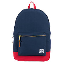 Buy Herschel Supply Co. Settlement Check Backpack Online at johnlewis.com
