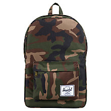 Buy Herschel Supply Co. Classic Backpack, Wood Camo Online at johnlewis.com