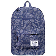 Buy Herschel Supply Co. Heritage Backpack, Tropical Blue Online at johnlewis.com
