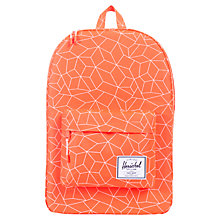 Buy Herschel Supply Co. Classic Backpack, Neon Orange Online at johnlewis.com