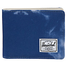 Buy Herschel Supply Co. Roy Sky Wallet, Blue/White Online at johnlewis.com
