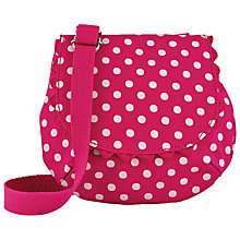 Buy Cath Kidston Children's Summer Little Spot Across Body Bag, Raspberry Online at johnlewis.com